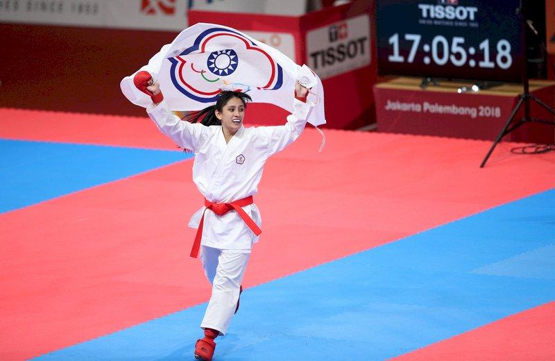 구샤오솽, AG 가라테 여자 50kg급 금메달